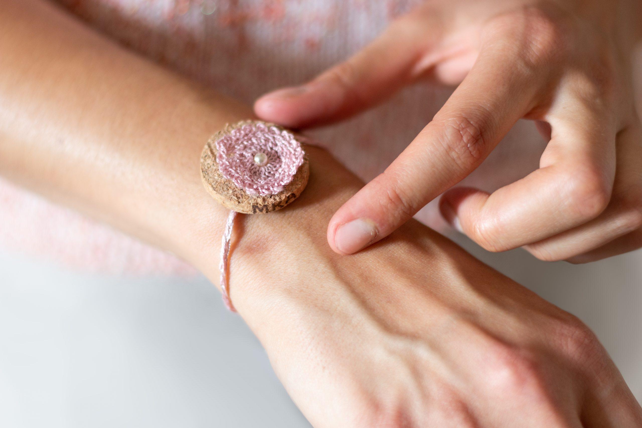 Bracelet réalisé par La Bobine d'Emilie