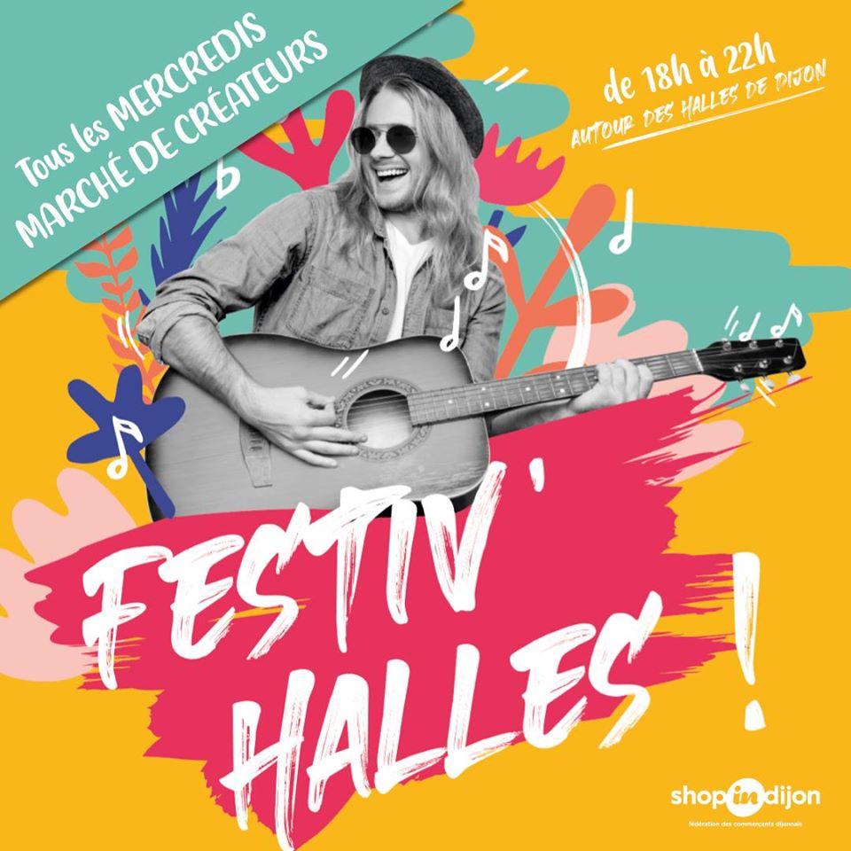 Affiche Festiv'Halles Dijon (21)