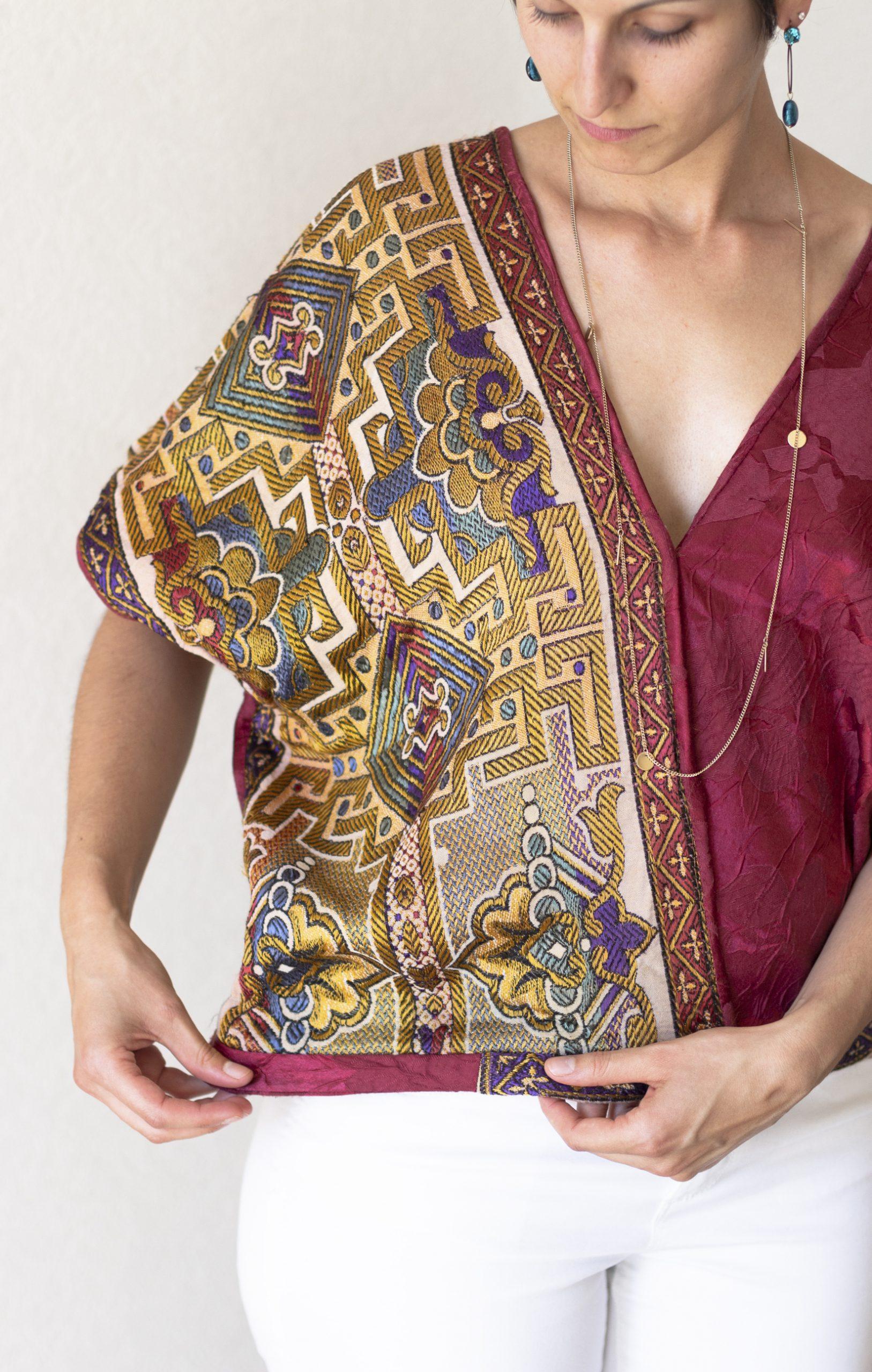 Kimono réalisé par La Bobine d'Emilie