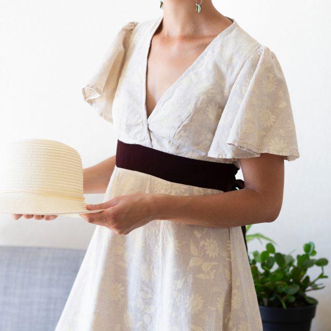 Robe réalisée par La Bobine d'Emilie